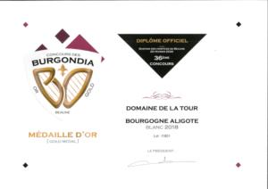 Burgondia Aligoté 2018